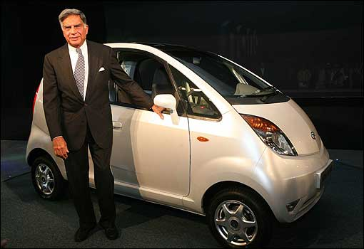 Tata Nano and its creator - Ratan Tata